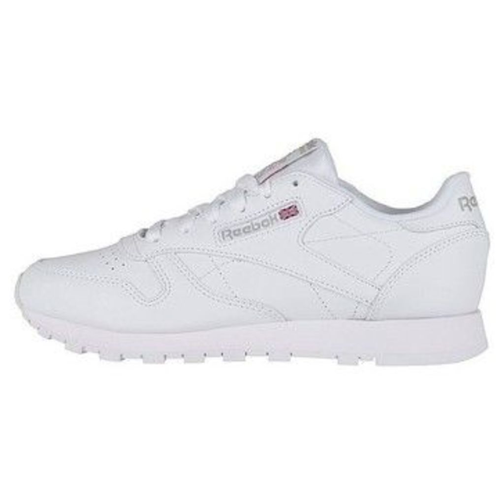 Classic Leather  women's Shoes (Trainers) in White
