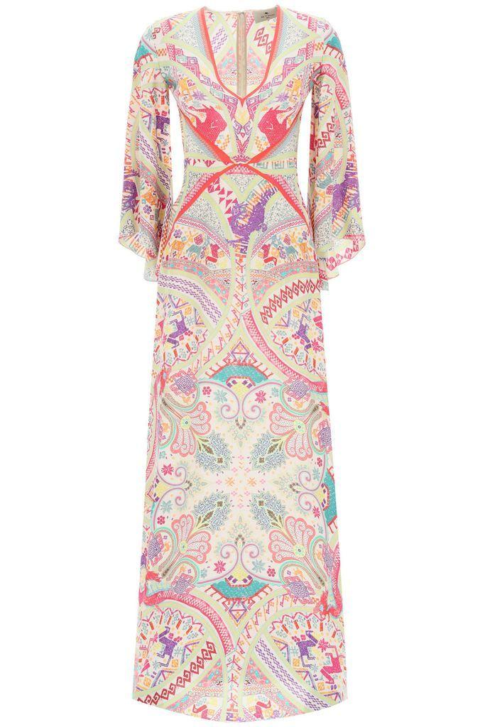 Idra Dress Ethnic Paisley Print