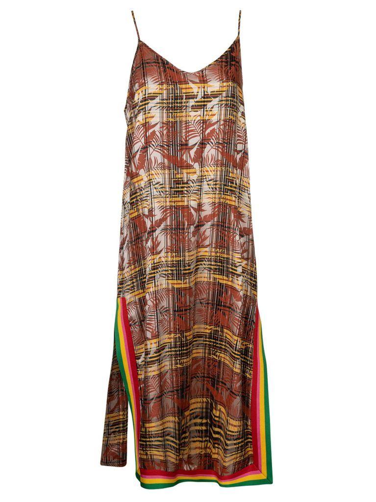 Exodus Check Slip Dress