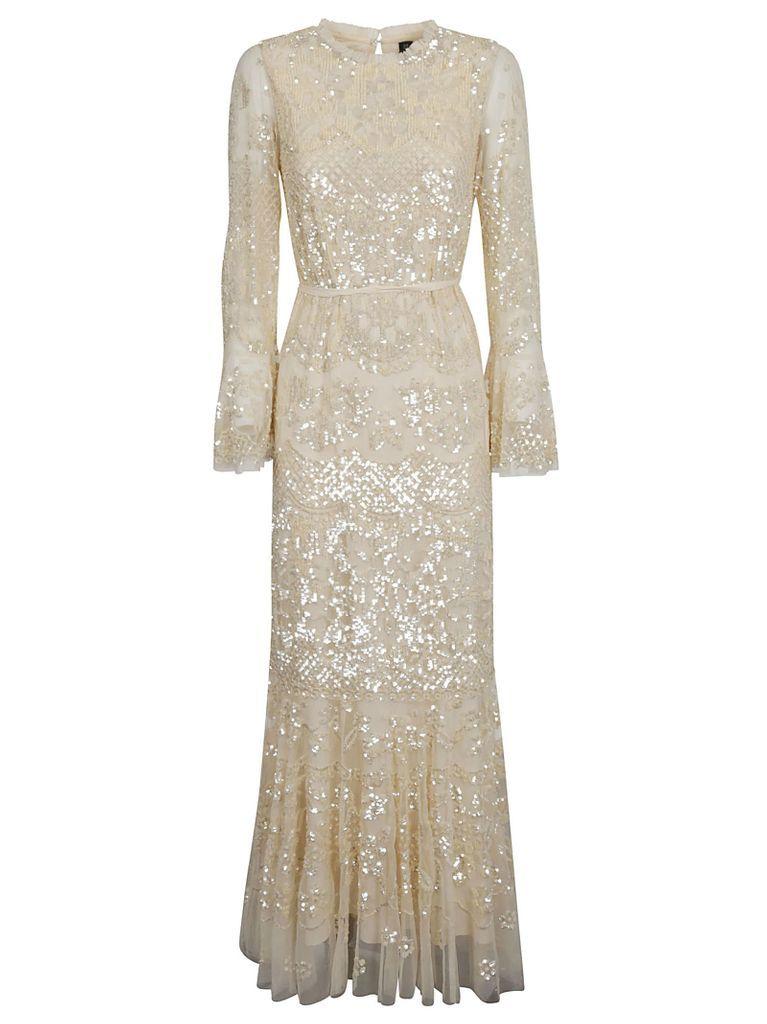 Long-length Sequined Dress