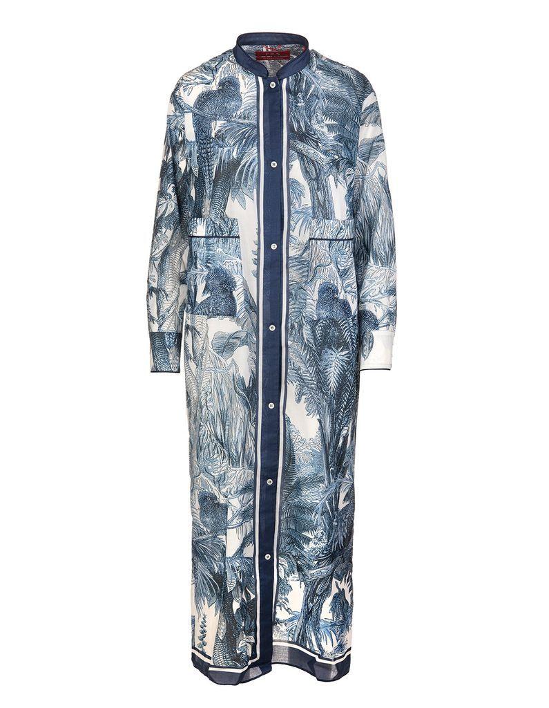 Blue Galene Long Dress
