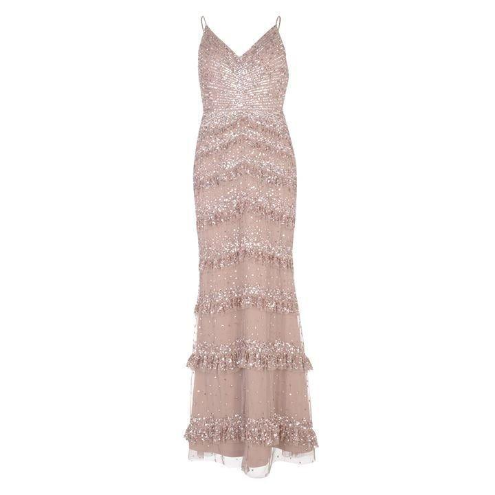Elegant Mesh Dress