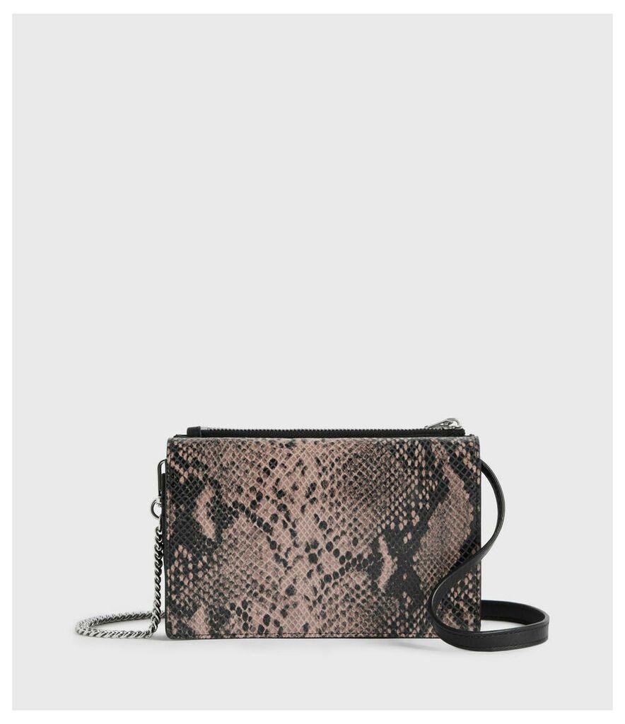 Fetch Chain Leather Crossbody Bag