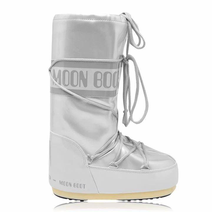 MOON BOOT Vinile Met Boots - White 002
