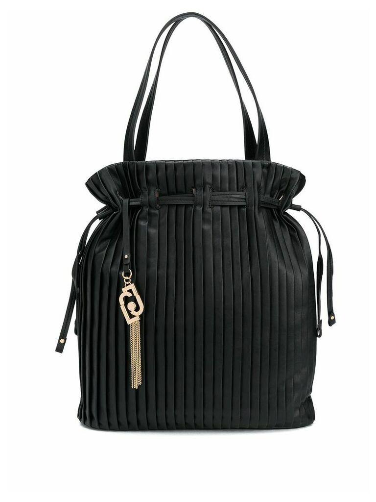 LIU JO pleated bucket bag - Black