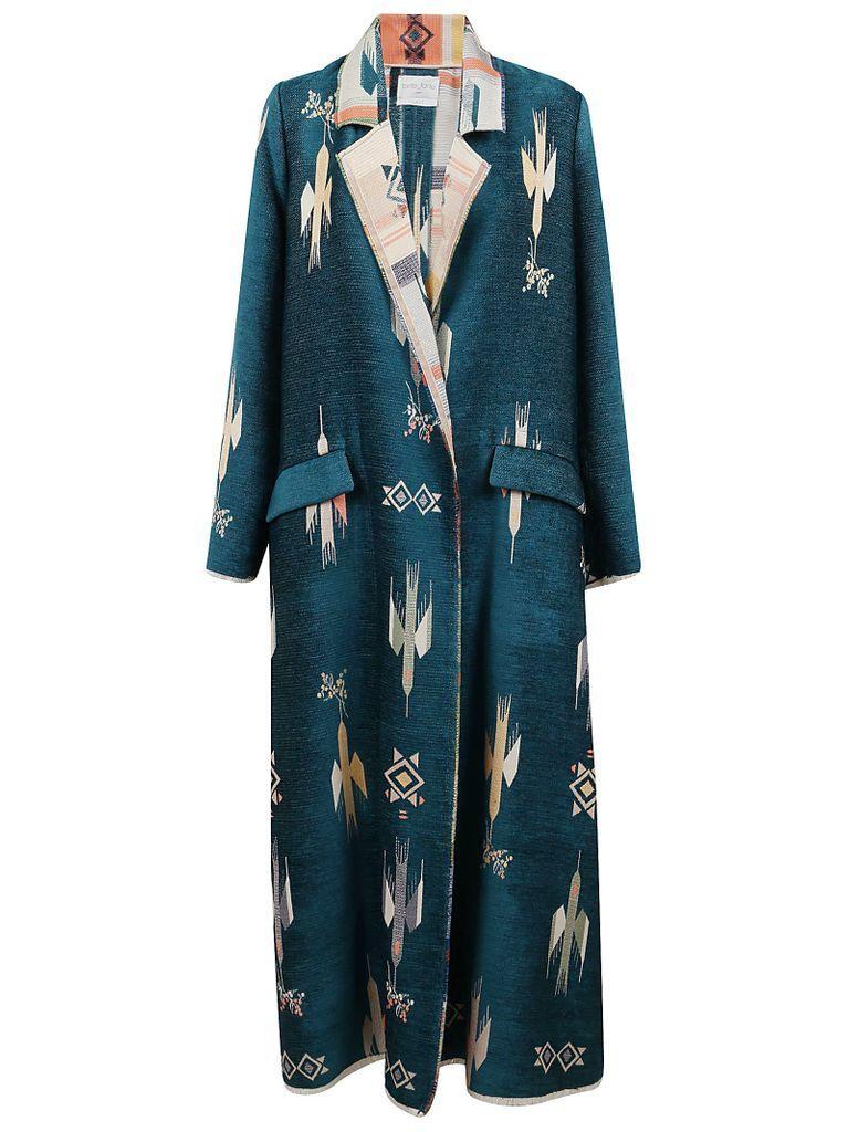 blue Mountain Jacquard Coat