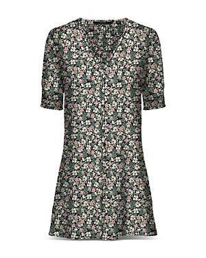 Ellie Floral Print Mini Dress