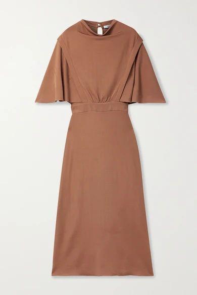 Miranda Stretch-jersey Midi Dress - Camel
