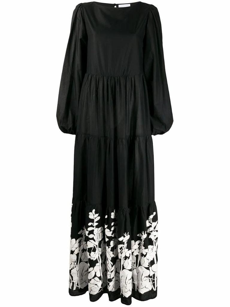 Betty floral maxi dress