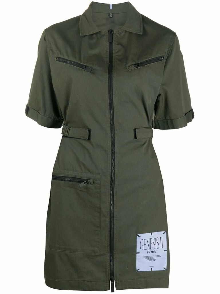 fitted cargo dress