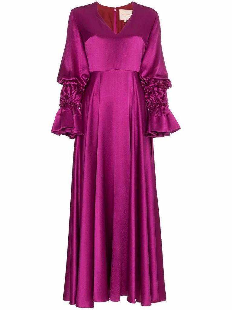 Silk Lavonne Maxi Dress
