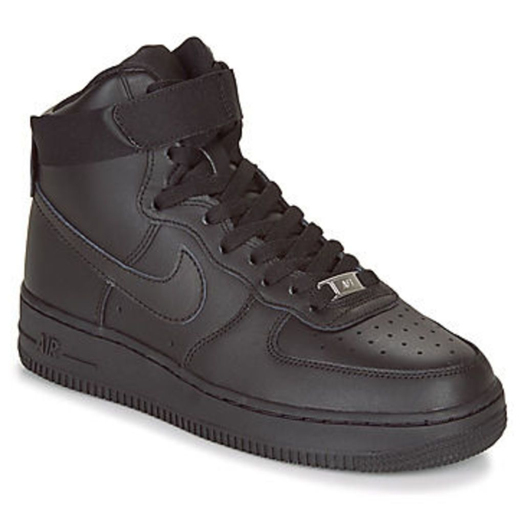 AIR FORCE 1 HIGH W  women's Shoes (High-top Trainers) in Black