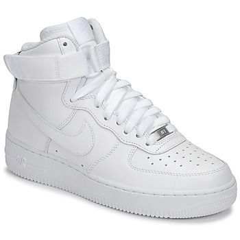 AIR FORCE 1 HIGH W  women's Shoes (High-top Trainers) in White
