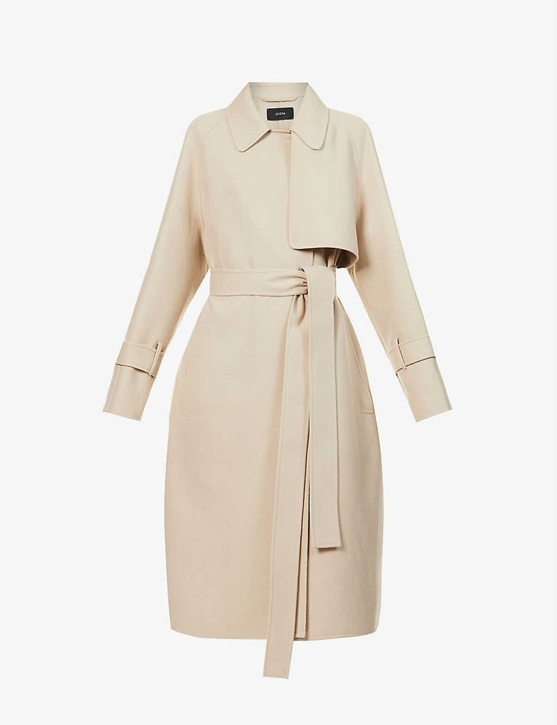 Cottrell wool and cashmere-blend coat