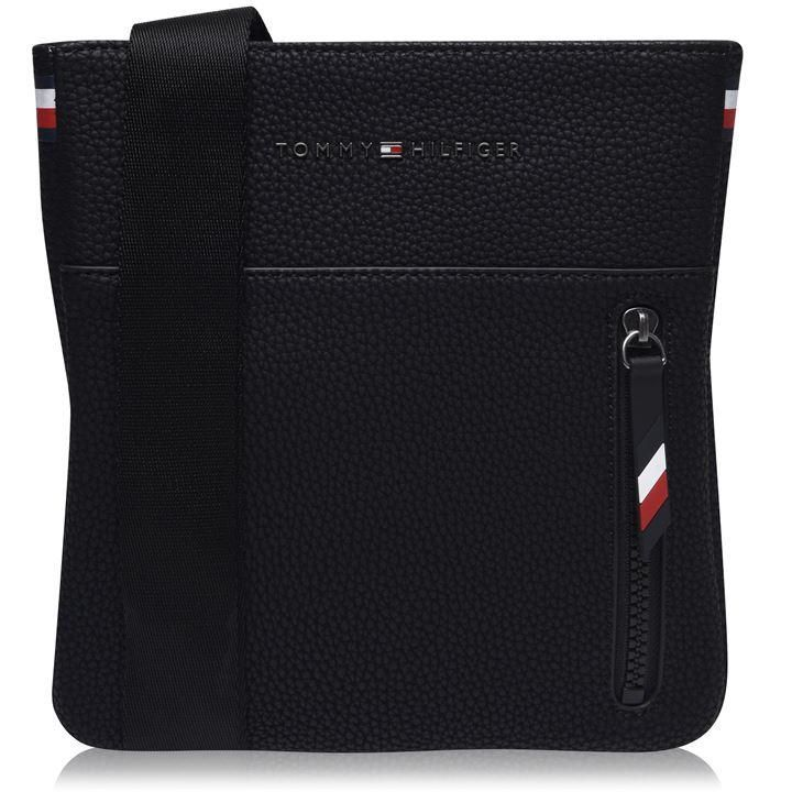 Tommy Hilfiger Mini Cross Body Flight Bag - Black BDS