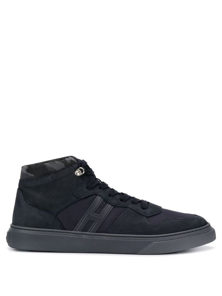 Hogan hi-top sneakers - Blue