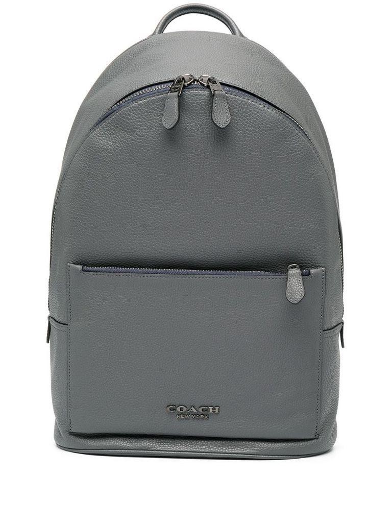 Metropolitan double-zip backpack